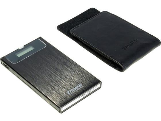 Внешний контейнер для HDD 2.5 SATA ZALMAN ZM-VE350 USB3.0 черный аксессуар zalman zm ve350 silver