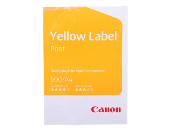 Купить Бумага Canon Yellow Label A4 80г/м2 5*500л 6821B001 Бумага, фотобумага