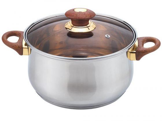 Купить Кастрюля Bekker BK-1253 Jumbo 3.7л 20см стеклянная крышка нержавеющая сталь Кастрюли