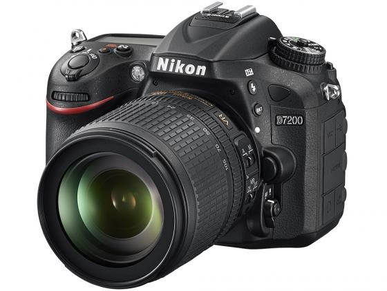 Зеркальная фотокамера Nikon D7200 KIT 18-105 VR VBA450K001