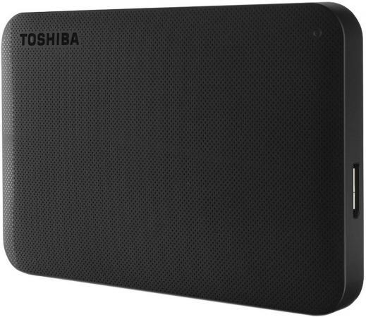"""Внешний жесткий диск 2.5"""" USB3.0 1Tb Toshiba CANVIO READY HDTP210EK3AA черный"""