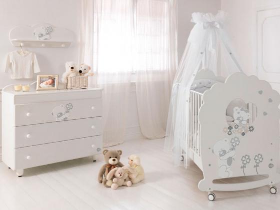 Комод бельевой Baby Expert Serenata (белый) baby expert пеленальный комод baby expert serenata
