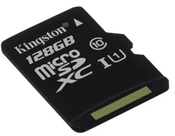 Карта памяти Micro SDXC 128GB Class 10 Kingston SDC10G2/128GBSP без адаптера карта памяти micro sdxc kingston sda10 512gb