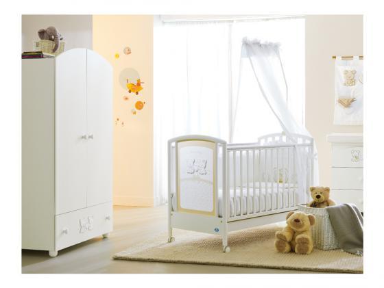 где купить  Кроватка Pali Smart Maison Bebe (белый)  по лучшей цене