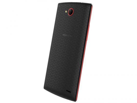 Смартфон Philips S337 черный красный 5 8 Гб GPS Wi-Fi philips s337