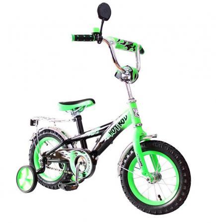 Велосипед двухколёсный Rich Toys BA Hot-Rod 12 1S зеленый 5419/KG1206 rt велосипед двухколесный ba hot rod 16