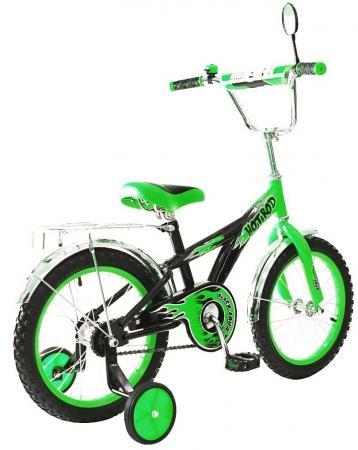 Велосипед двухколёсный Rich Toys BA Hot-Rod 16 1s зеленый KG1606 rt велосипед двухколесный ba hot rod 16