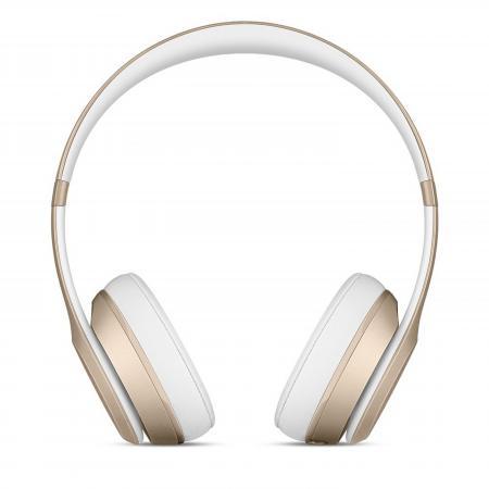 Bluetooth-гарнитура Apple Beats Solo2 Wireless Headphones золотистый MKLD2ZE/A