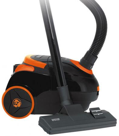 Купить Пылесос Mystery MVC-1122 с мешком 1400Вт черный оранжевый Пылесосы