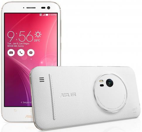 Смартфон ASUS Zenfone Zoom ZX551ML белый 5.5 128 Гб NFC LTE Wi-Fi GPS 3G 90AZ00X2-M01380 смартфон asus zenfone 3 zoom ze553kl серебристый 5 5 64 гб lte wi fi gps 3g 90az01h1 m00770