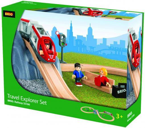 Железная дорога Brio Туннель в горе с поездом