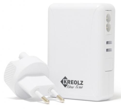 Сетевое зарядное устройство Kreolz TJ-132 6А 5 х USB белый