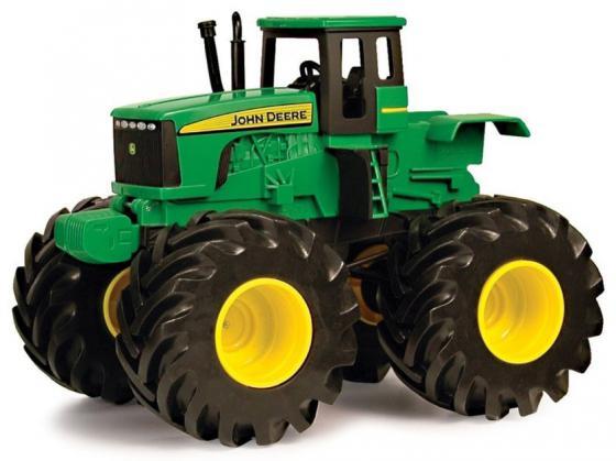 Трактор Tomy John Deere - Monster Treads зеленый машина tomy john deere monster treads 37650 3