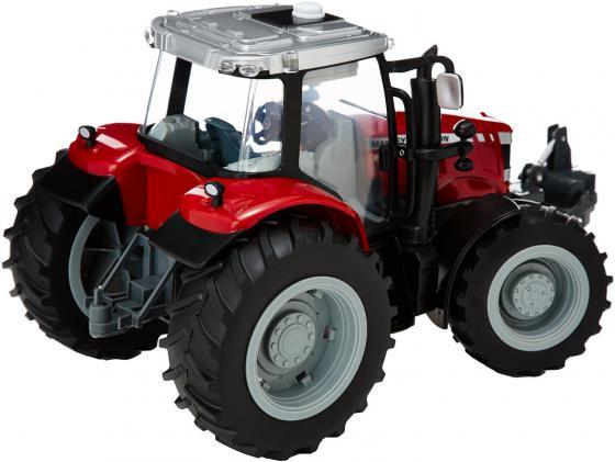 Трактор Tomy John Deere - Massey Ferguson 6613 красный Т043078 трактор tomy john deere зеленый 19 см с большими колесами звук свет