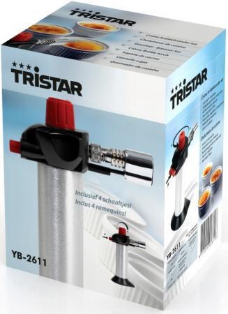 Карамелизатор Tristar YB-2611 серебристый чёрный аккумулятор yoobao yb 6014 10400mah green