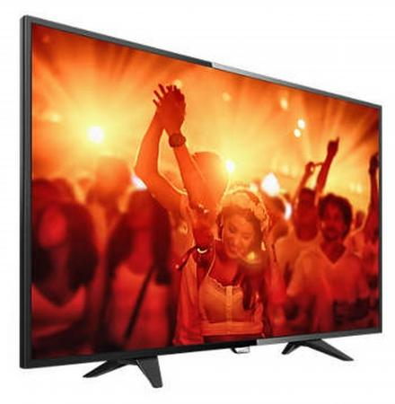 "Телевизор LED 32"" Philips 32PHT4201/60 черный 1366x768 50 Гц SCART USB"