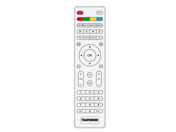 """Телевизор LED 24"""" Telefunken TF-LED24S38T2 белый 1366x768 50 Гц VGA SCART"""