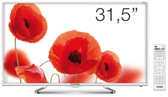 "Телевизор 32"" Telefunken TF-LED32S38T2 белый 1366x768 50 Гц USB SCART VGA S/PDIF"