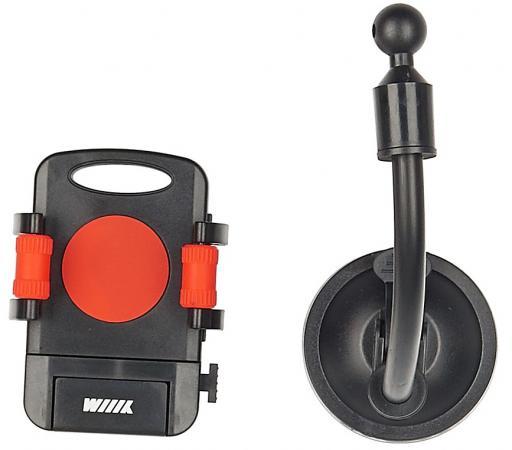 Автомобильный держатель Wiiix HT-WIIIX-01Nr красный/черный держатель wiiix ht 11v черный ht 11v