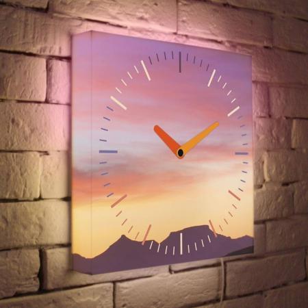 Купить Часы настенные FotonioBox LB-004-35 розовый Часы домашние