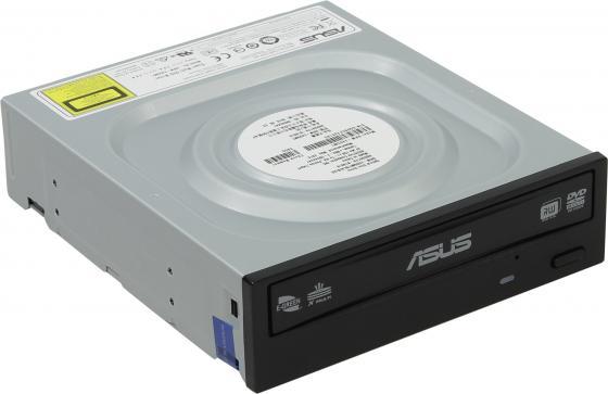 Привод для ПК DVD±RW ASUS DRW-24D5MT/BLK/B/AS SATA черный OEM привод для пк dvd±rw asus drw 24d5mt blk b as oem