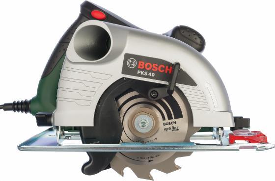 Дисковая пила Bosch PKS 40 850Вт пила дисковая bosch gks 55 g 601682000