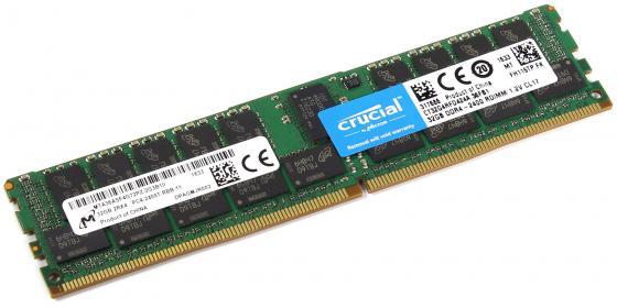 Оперативная память 32Gb PC4-21300 2666MHz DDR4 DIMM CL19 Crucial CT32G4RFD4266