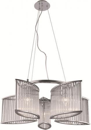 Подвесная люстра Divinare Domenica 2060/02 SP-5  светильник настенный divinare domenica 2060 02 ap 1 4620016105955