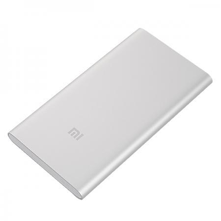 Портативное зарядное устройство Xiaomi Mi Power Bank 5000mAh серебристый NDY-02-AM зарядное устройство 16000mah xiaomi xiaomi m2 m2s m3 m4 mi power bank