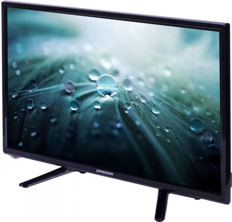 "Телевизор 22"" Erisson 22LES76T2 черный 1920x1080 50 Гц USB VGA HDMI"