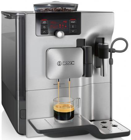 Кофемашина Bosch TES80721RW 1600 Вт серебристый bosch 1600 a 00159
