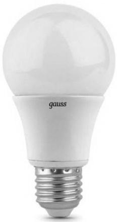 Купить Лампа светодиодная груша Gauss 23227А E27 7W 4100K Лампы светодиодные