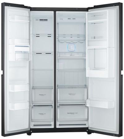 Холодильник Side by Side LG GC-M257UGLB черный холодильник side by side samsung rs 57 k 4000 sa