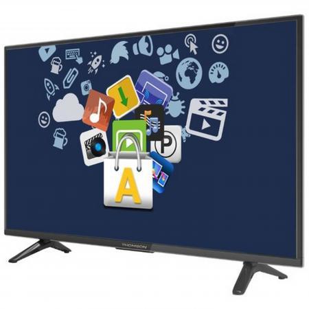 """Телевизор 28"""" Thomson T28D19DHS-01B черный 1366x768 50 Гц Wi-Fi Smart TV RJ-45 WiDi"""