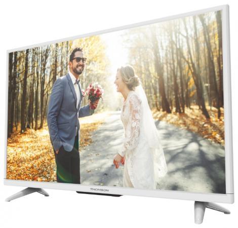 """Телевизор 32"""" Thomson T32D16DH-01W белый 1366x768 50 Гц SCART VGA USB"""