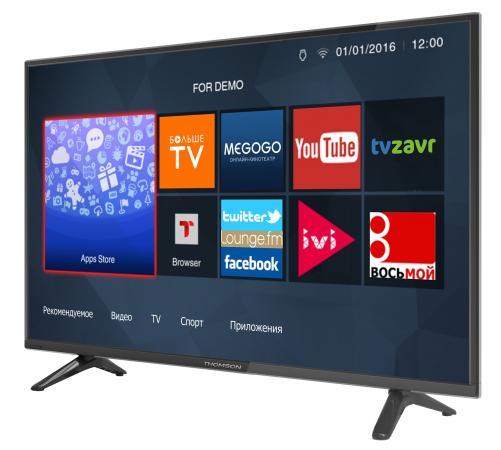 """Телевизор 32"""" Thomson T32D19DHS-01B черный 1366x768 50 Гц Wi-Fi Smart TV RJ-45 WiDi"""