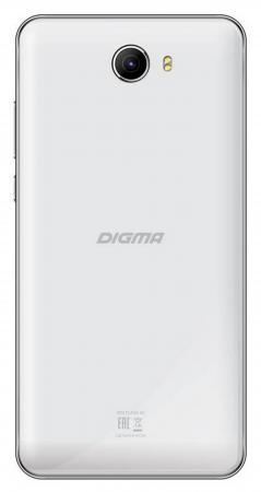Смартфон Digma Vox Flash 4G белый 5 8 Гб LTE GPS Wi-Fi 3G смартфон digma vox flash 4g black черный