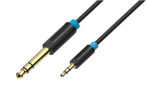 Кабель соединительный 2.0м Vention 6.5 Jack (M) - 3.5 Jack (M) BABBH кабель jack jack vention кабель minijack jack 2 m