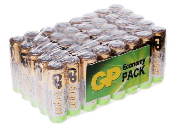Купить Батарейки 1500 mAh GP Super Alkaline LR6 40 шт GP 15A-B40 Батарейки