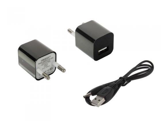 Концентратор USB 2.0 ORIENT TA-400PSN 4 x USB 2.0 черный