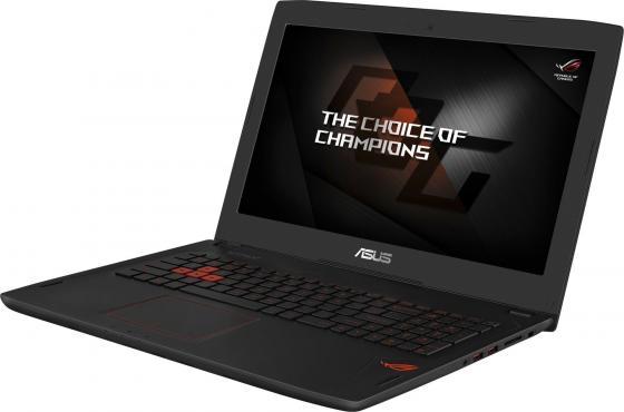 """Ноутбук ASUS GL553VD-FY116T 15.6"""" 1920x1080 Intel Core i7-7700HQ 1Tb + 128 SSD 12Gb nVidia GeForce GTX 1050 4096 Мб черный Windows 10 Home 90NB0DW3-M01560"""