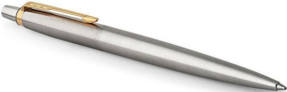 Шариковая ручка автоматическая Parker Jotter Core K63 Stainless Steel GT синий M 1953182 карандаш механический parker jotter steel b61 s0705570 stainless steel gt 0 5мм