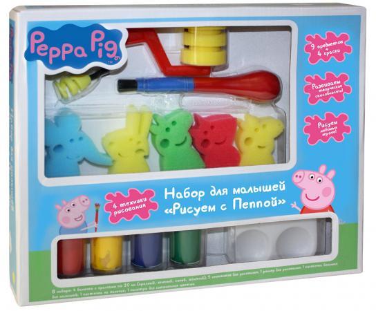 Купить Набор для рисования Peppa Pig Свинка Пеппа - Рисуем с Пеппой от 3 лет Прочие наборы для творчества