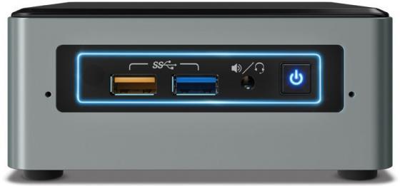 Купить Неттоп Intel BOXNUC6CAYSAJR Intel Celeron-J3455 2Gb SSD 32 Intel HD Graphics 500 Windows 10 Home черный серебристый BOXNUC6CAYSAJR Неттопы