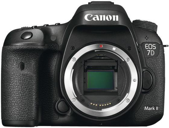 Зеркальная фотокамера Canon EOS 7D Mark II Body + Wi-fi адаптер черный 9128B128