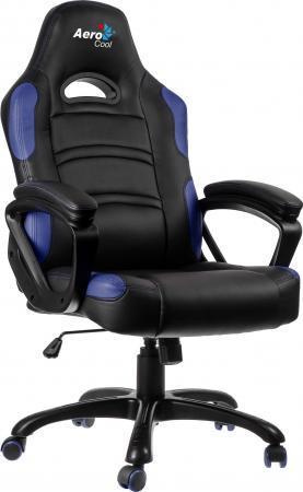 Кресло компьютерное игровое Aerocool AC80C-BB черно-синий 4710700954027
