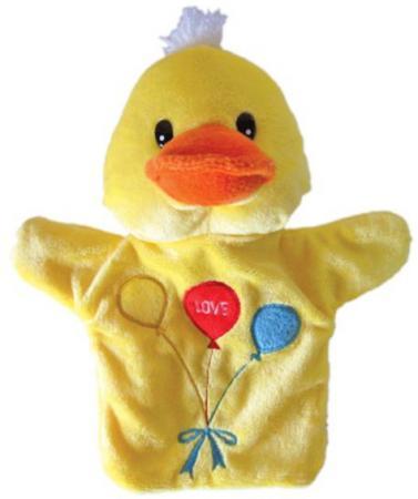 Купить Кукла на руку Shantou Gepai Уточка с шариками 23 см STW306-DCK Игровые наборы Детский театр