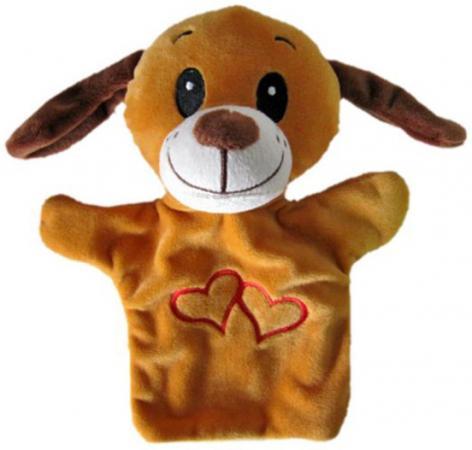 Купить Кукла на руку Shantou Gepai Щенок с сердечком 23 см STW305A-DOG Игровые наборы Детский театр