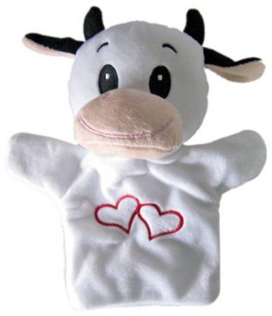 Купить Кукла на руку Shantou Gepai Буренка с сердечком 23 см STW305A-COW Игровые наборы Детский театр