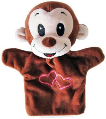 Купить Кукла на руку Shantou Gepai Обезьянка с сердечком 23 см STW305A-MNK Игровые наборы Детский театр